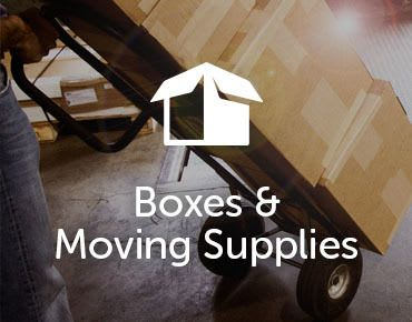 boxes and dolly