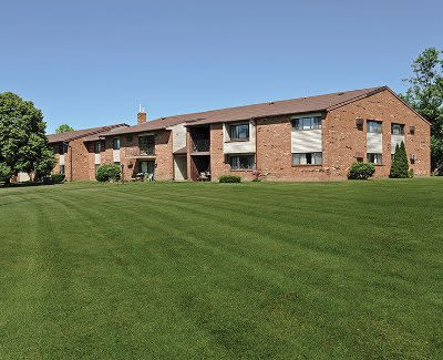 Lush lawn at Webster Manor Apartments in Webster, New York