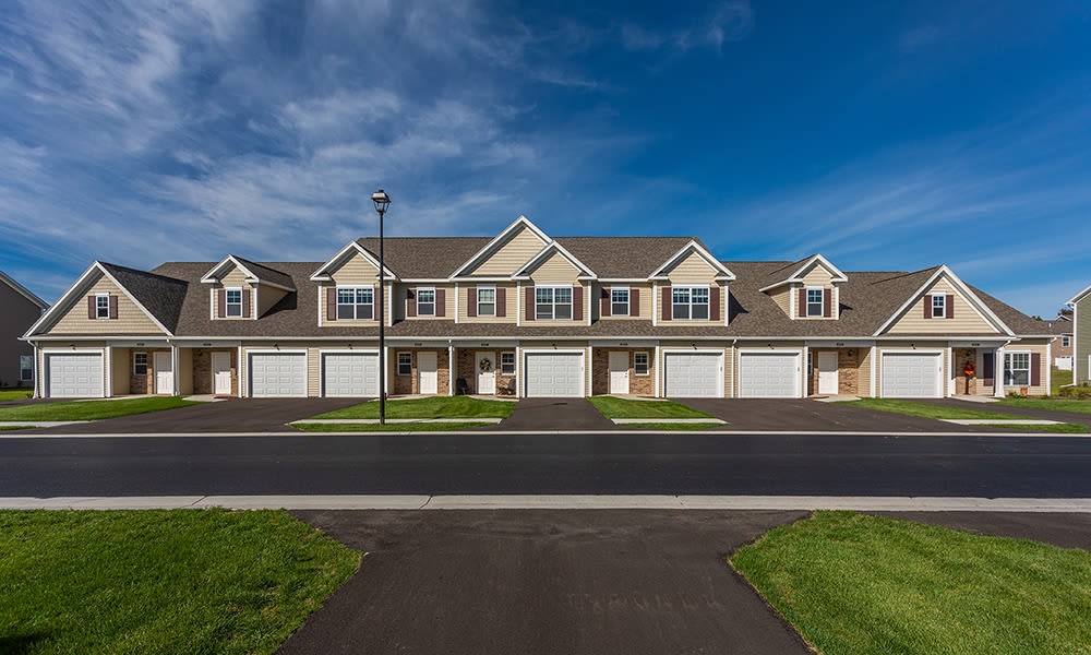 Beautiful townhomes at Woodland Acres Townhomes in Liverpool, New York