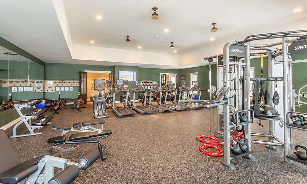 Our townhomes at Woodland Acres Townhomes in , New York in Liverpool, New York have a state-of-the-art fitness center