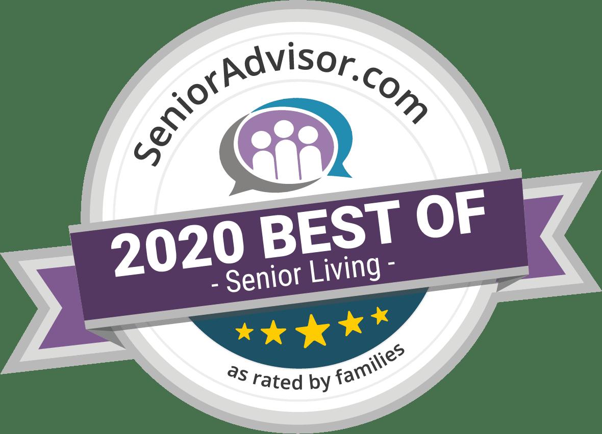 Senioradvisor.com best of 2020 senior living