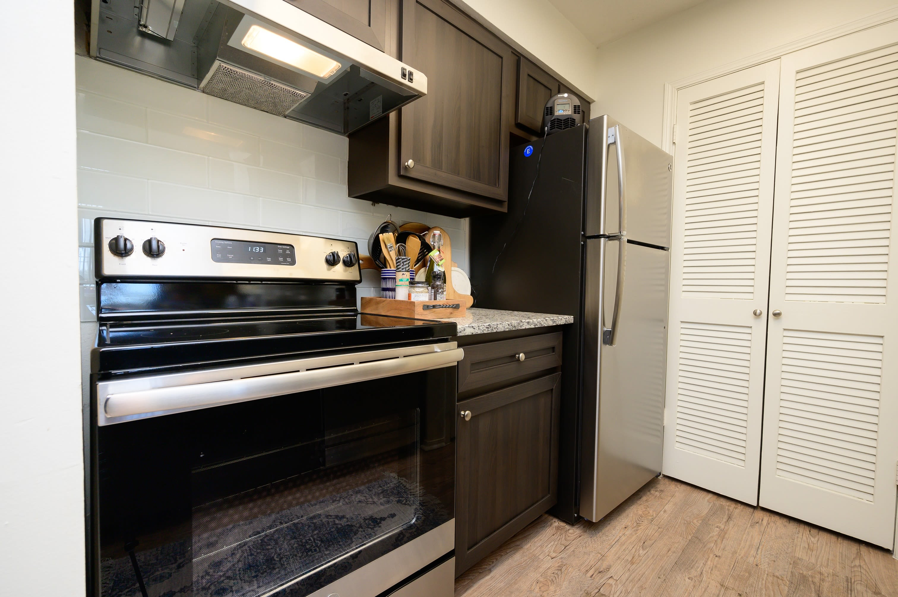 Spacious kitchens at The Hamilton in Hendersonville, Tennessee