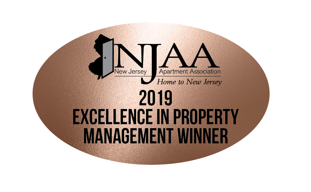 NJAA 2019 Excellence in Property Management Award Winner
