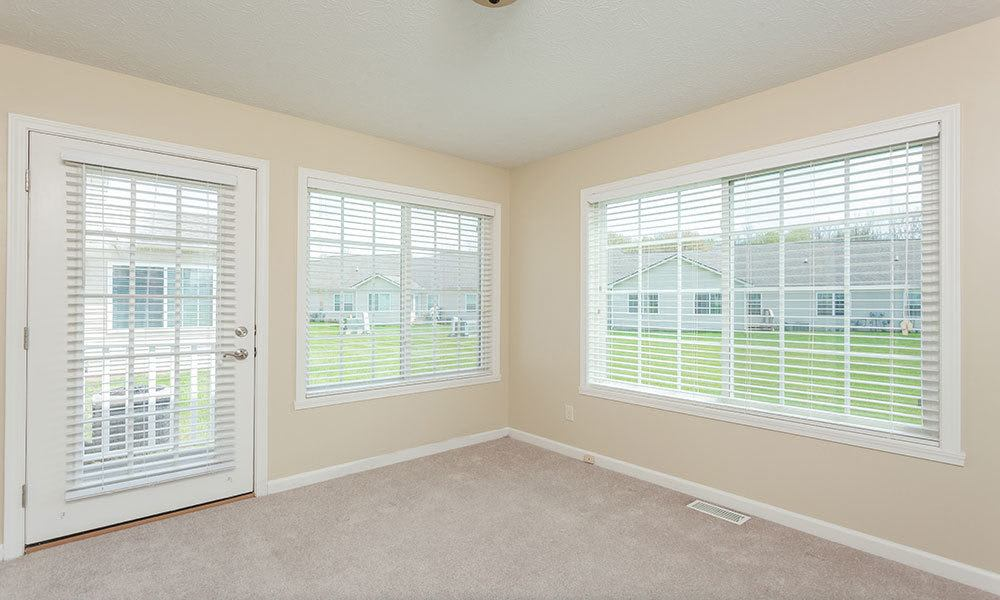 Open floor plans at Hickory Hollow in Spencerport, New York