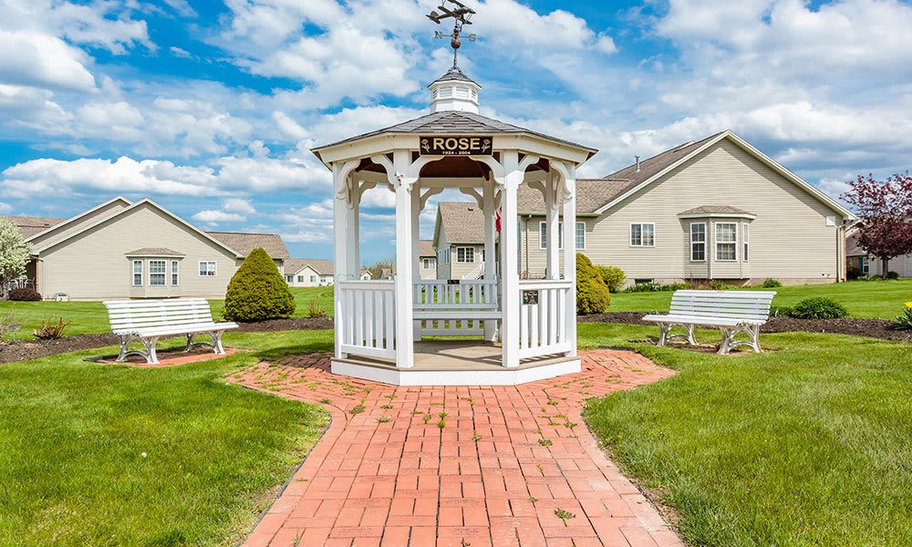 Gazebo at Hickory Hollow in Spencerport, New York