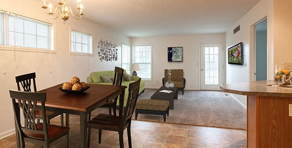 Great floor plans at Hickory Hollow in Spencerport, New York