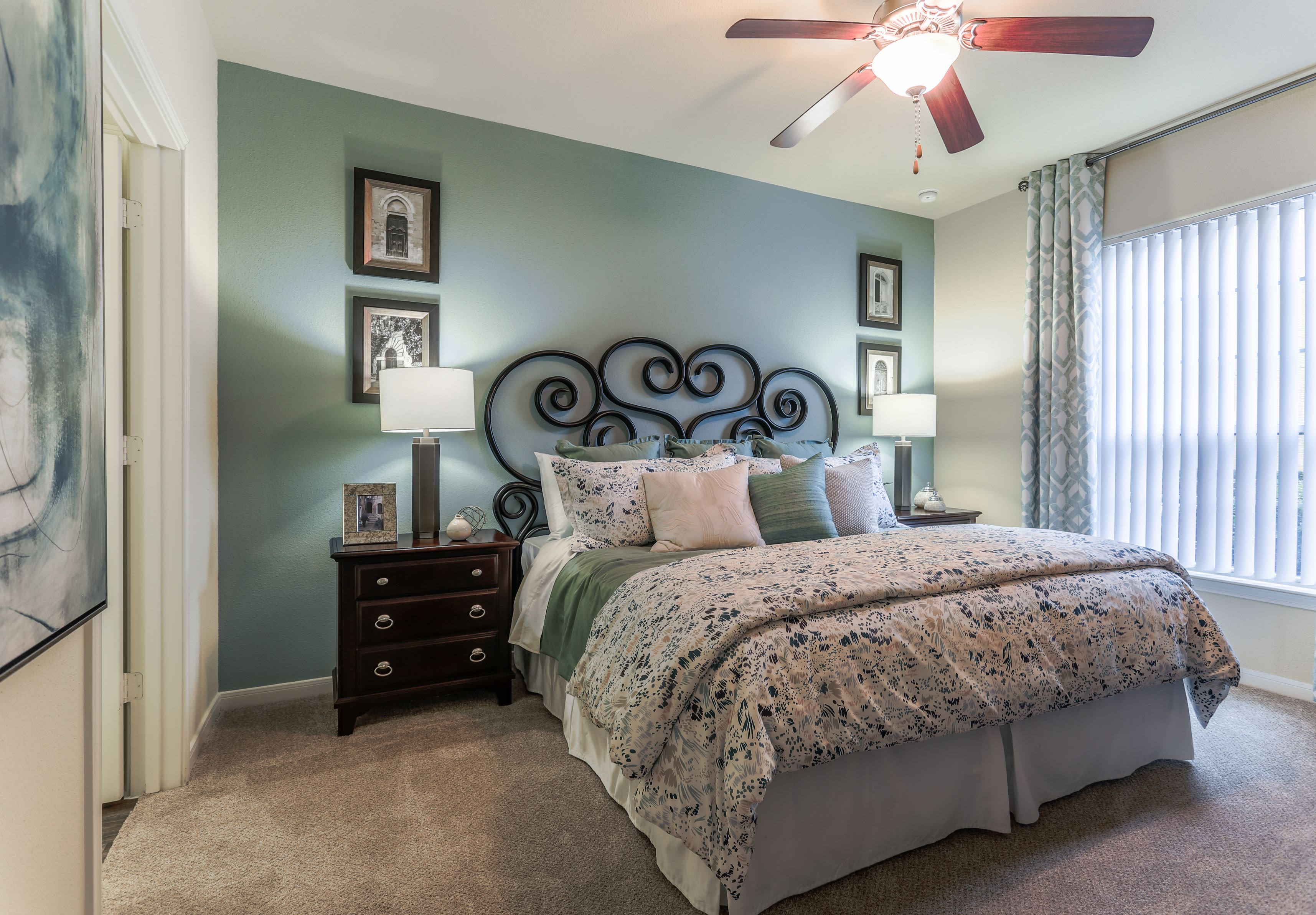 Bedroom at Amalfi at Tuscan Lakes in League City Texas