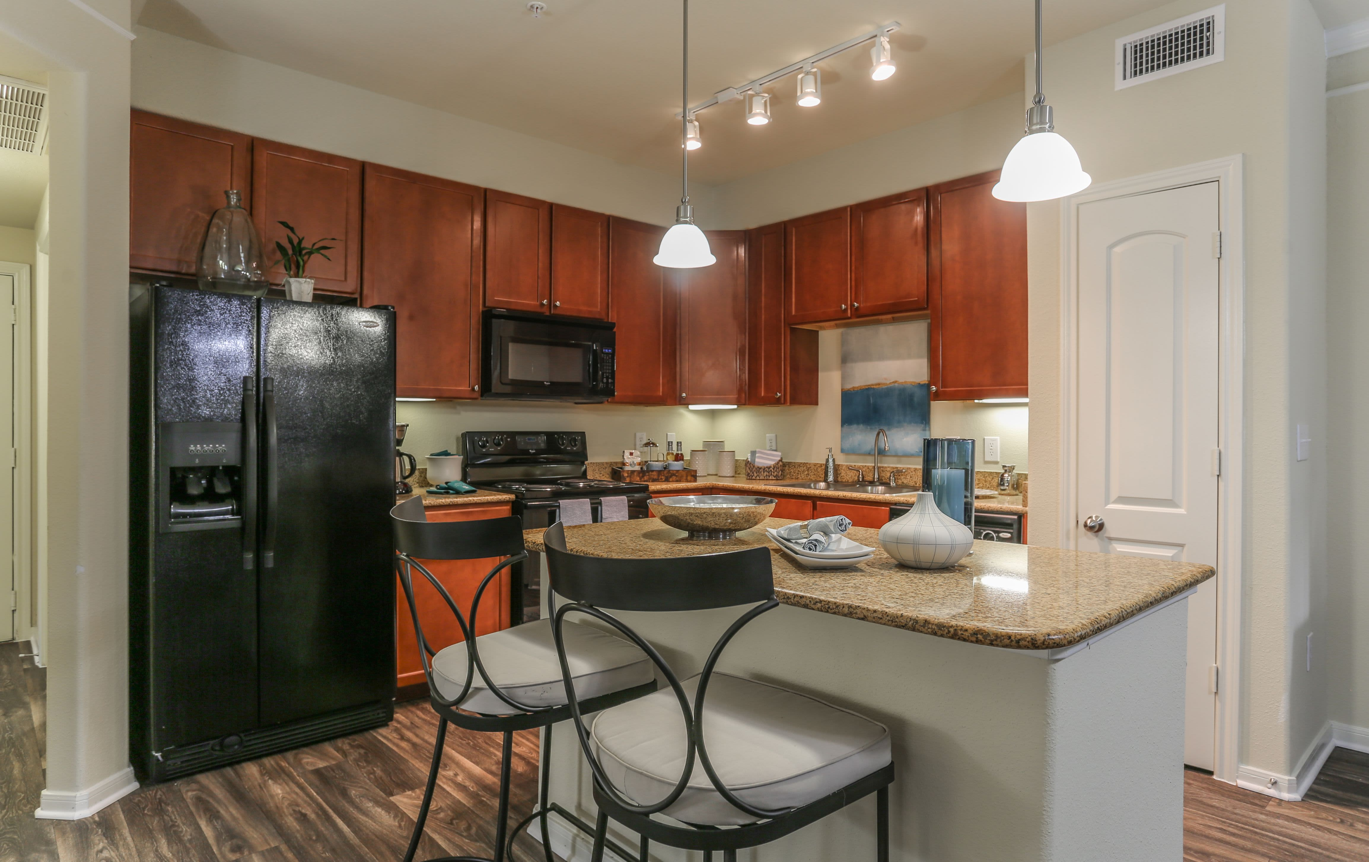 Kitchen at Amalfi at Tuscan Lakes in League City Texas