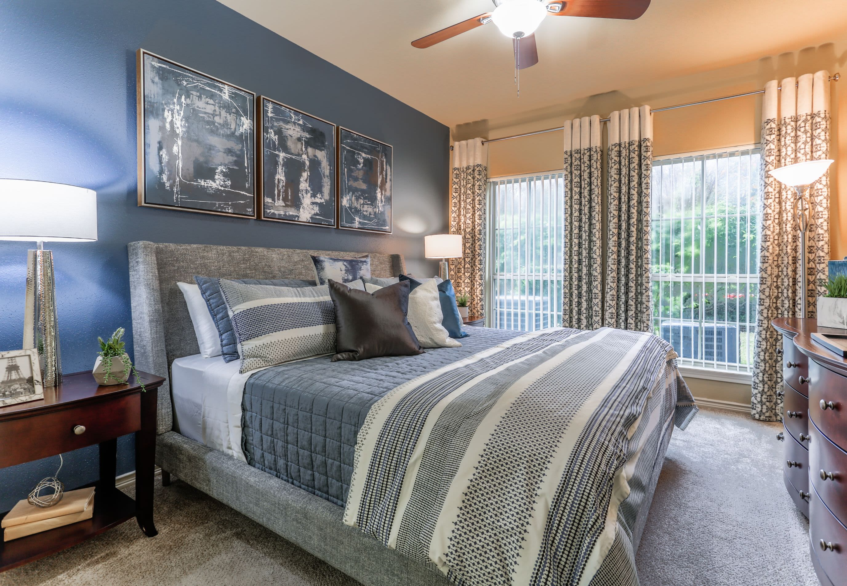 Bedroom at Sorrento at Tuscan Lakes in League City Texas