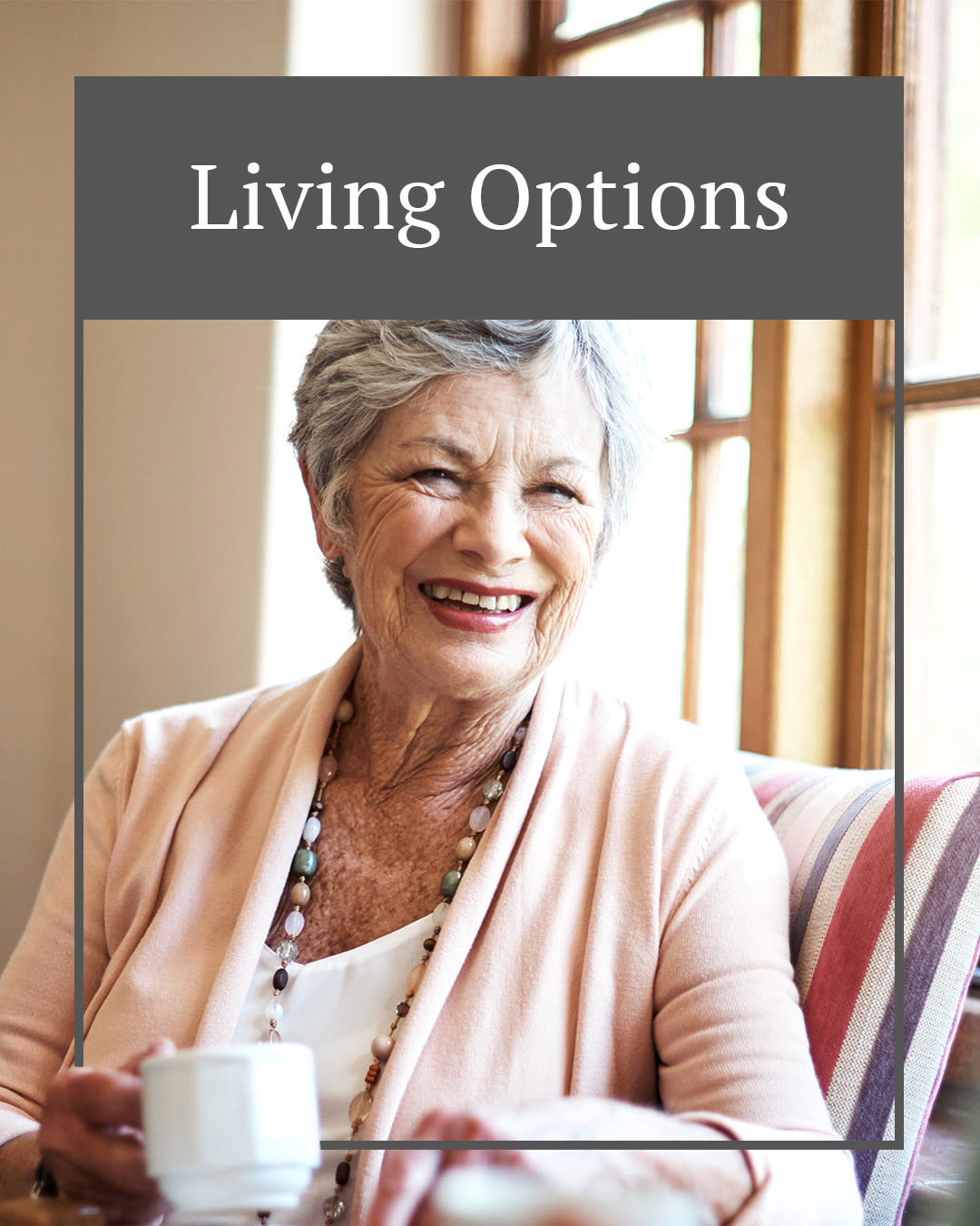 Living options at Autumn Grove Cottage at The Heights in Houston, Texas