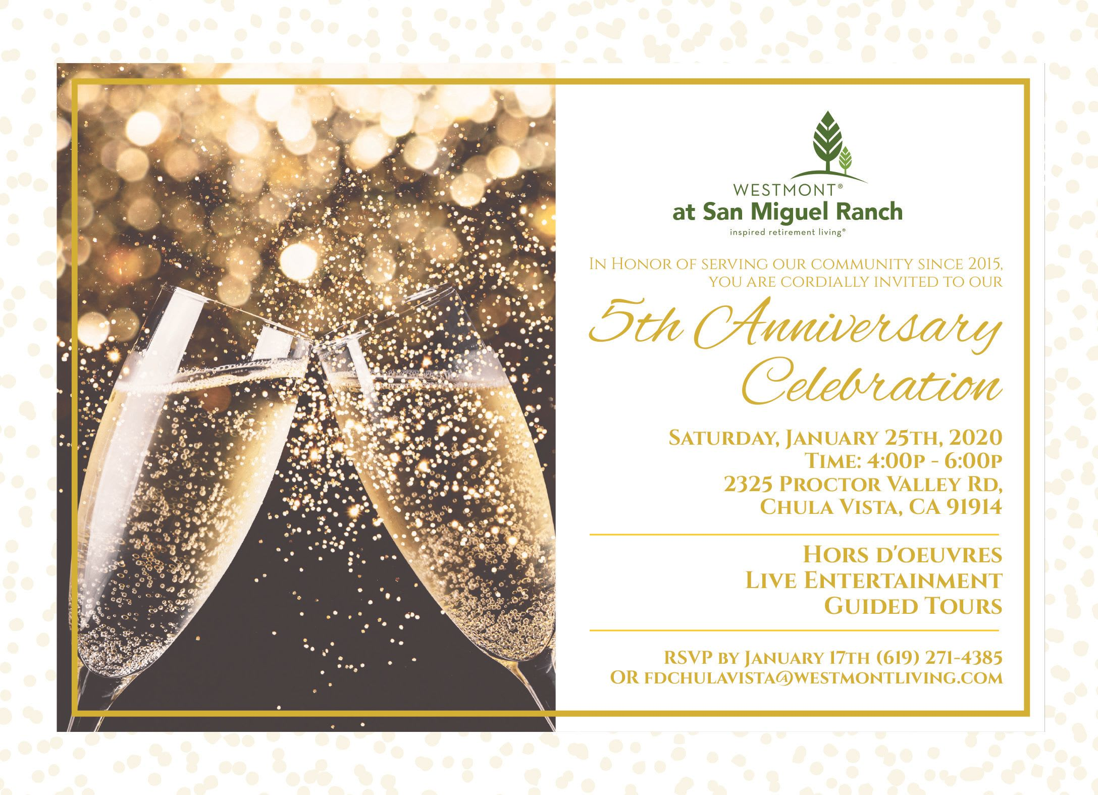 5th Anniversary Celebration
