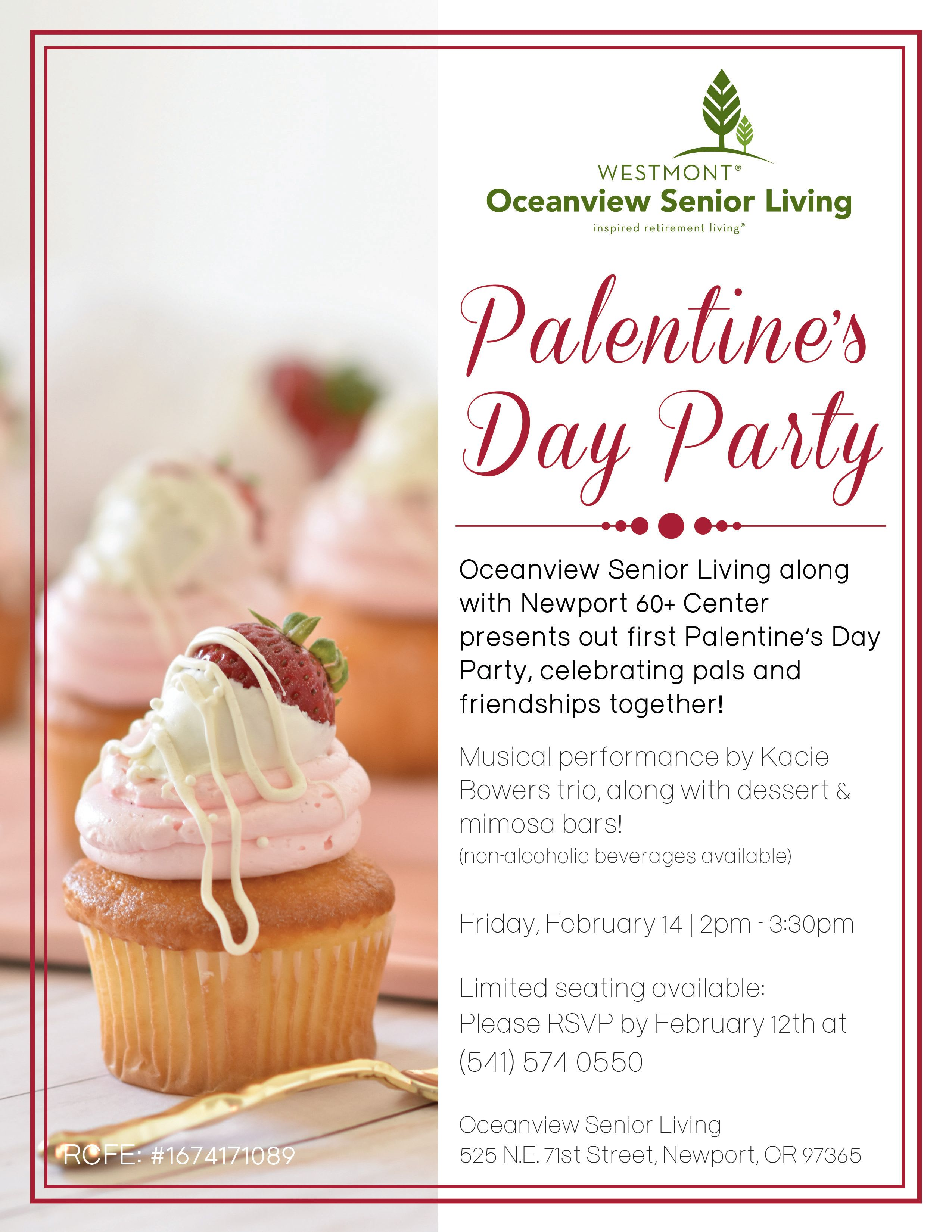 Palentine's Day Oceanview
