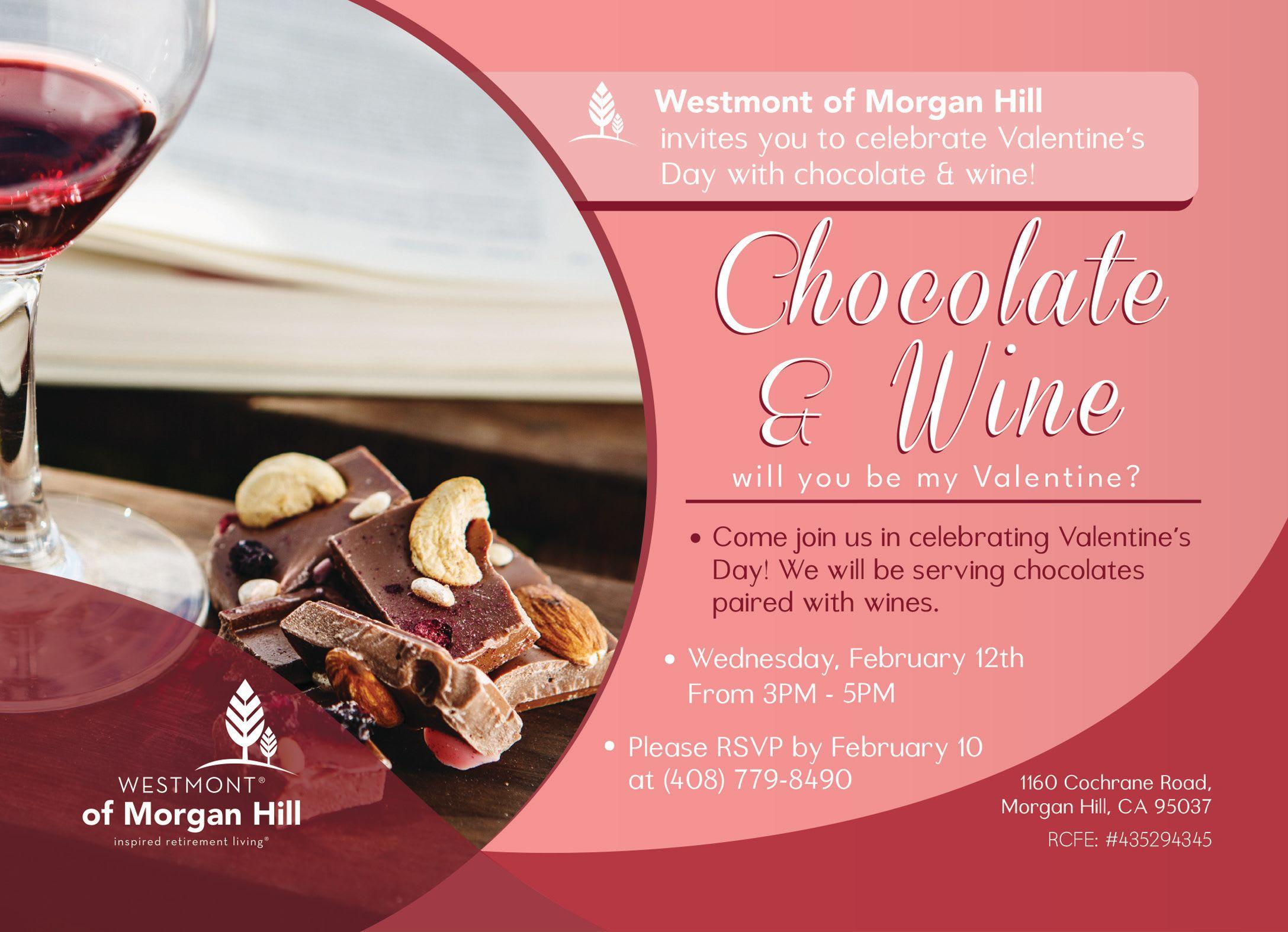 Chocolate & Wine Westmont Morgan Hill
