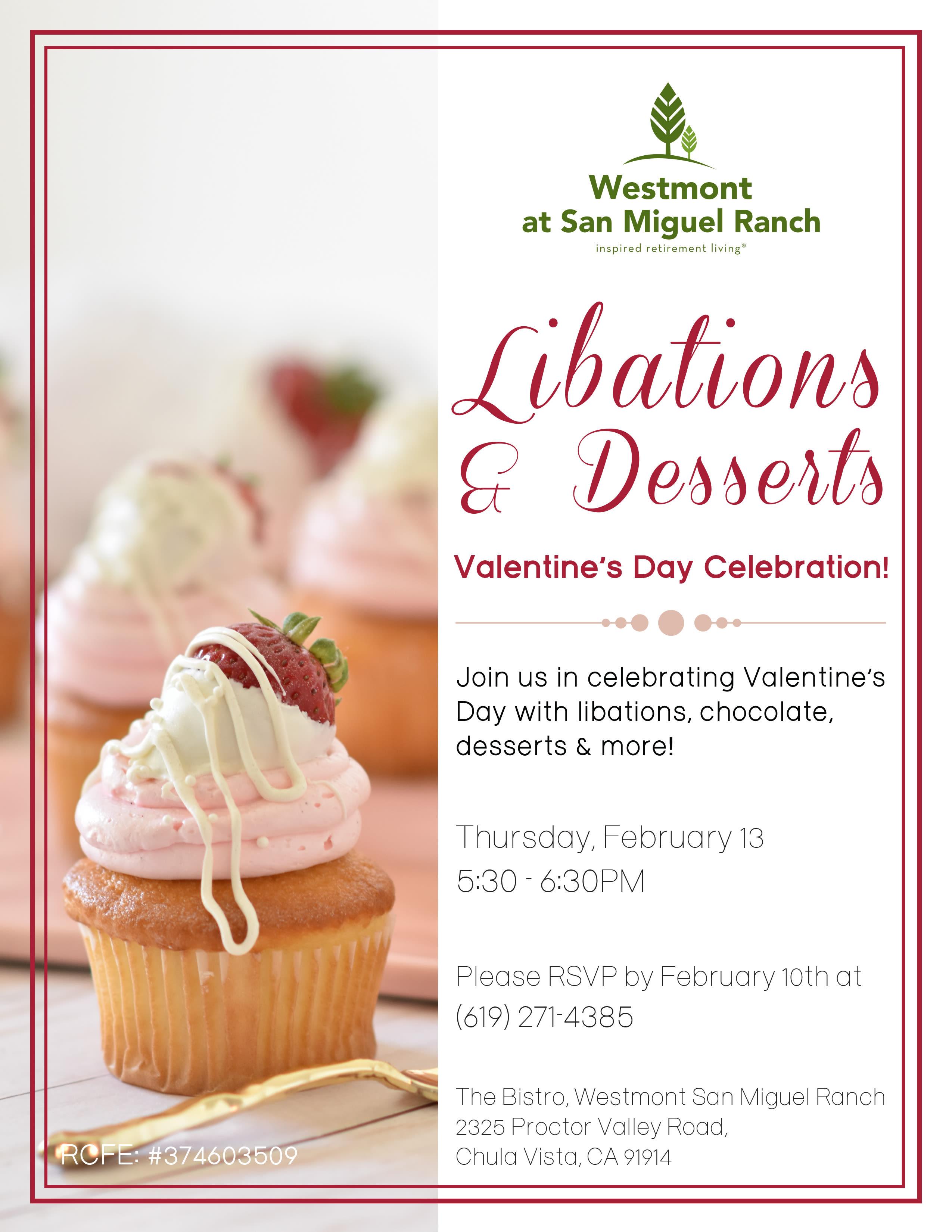 Libations & Desserts