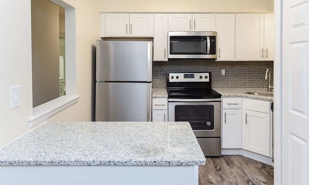Kitchen at Apartments in Moorestown, New Jersey