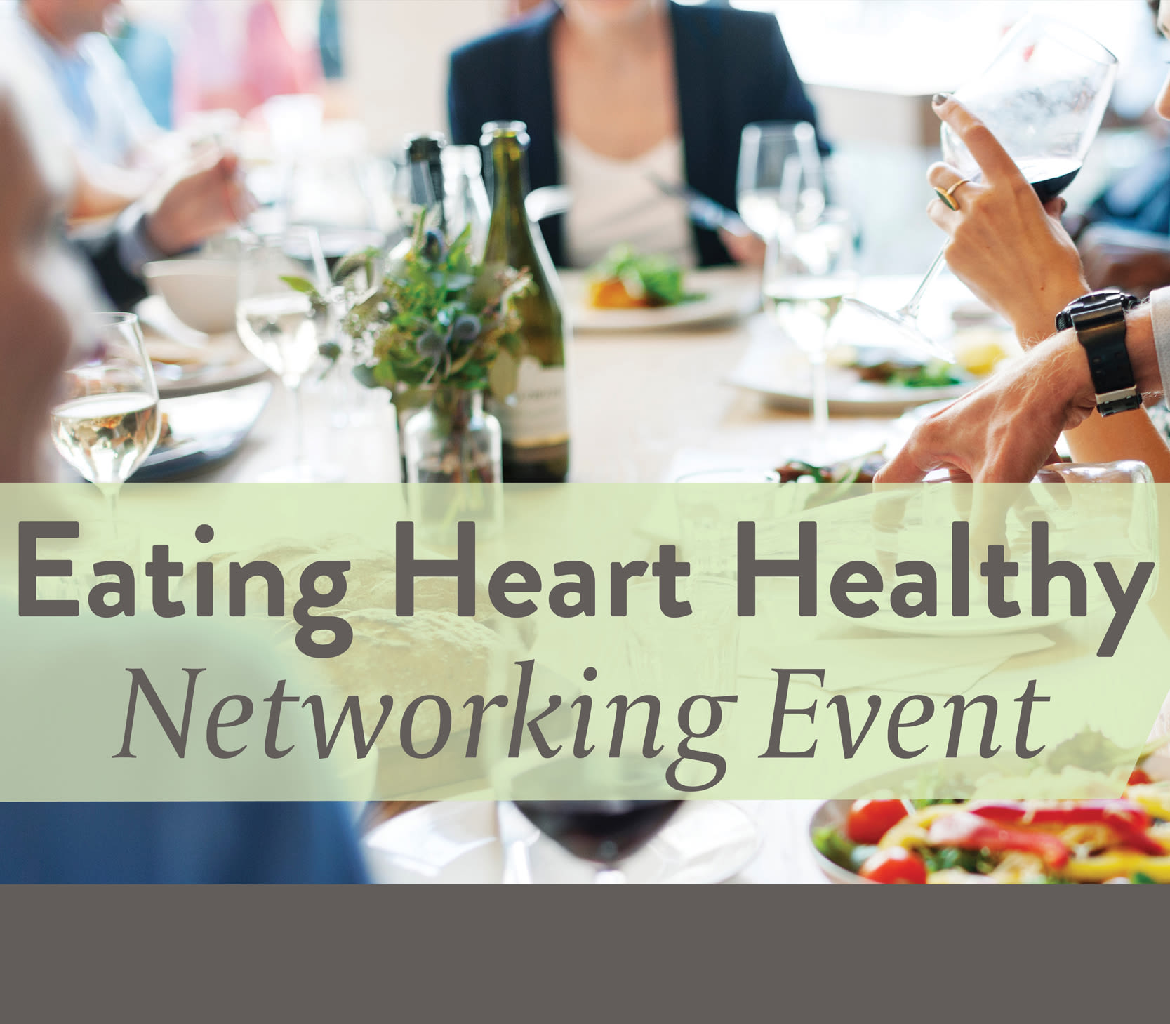 Join us for a Eating Heart Healthy event at Anthology of Troy in Troy, Michigan
