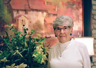 Senior living resident at Windsor Senior Living in Dallas, Texas