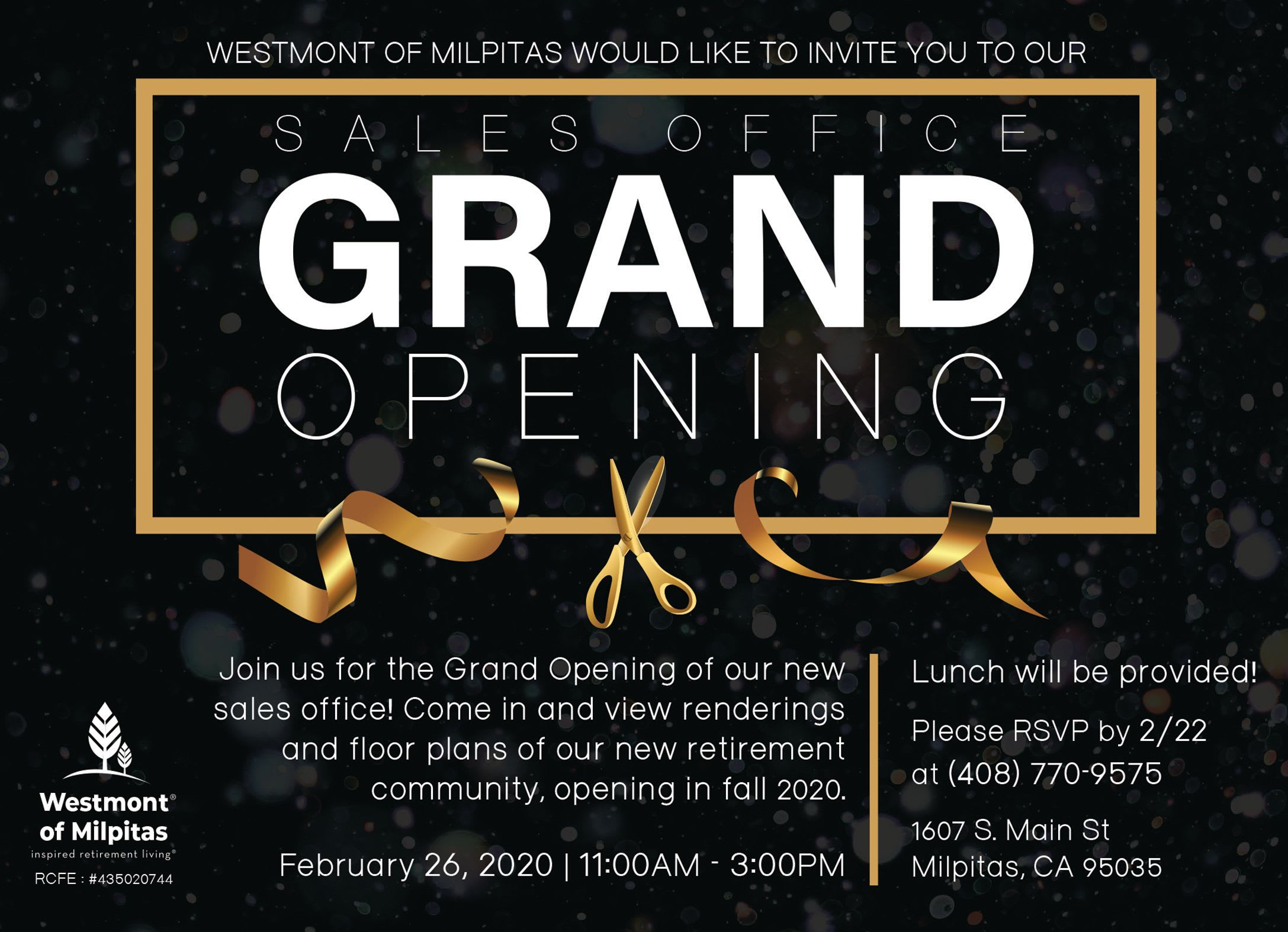 Westmont of Milpitas Sales Office Grand Opening