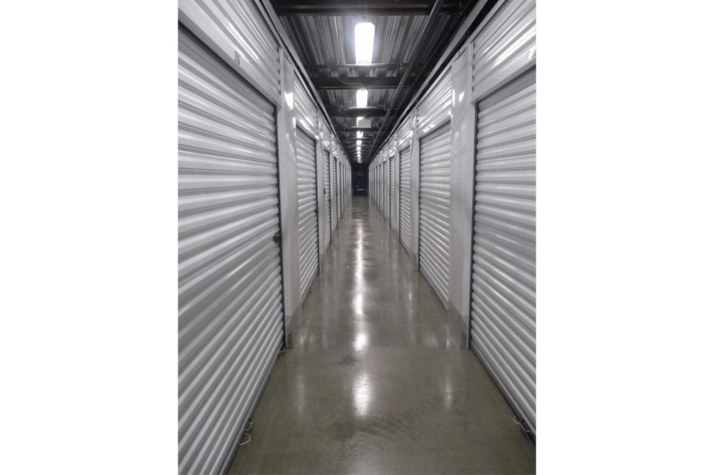 Storage interiors at Mini Storage Depot in Knoxville, Tennessee