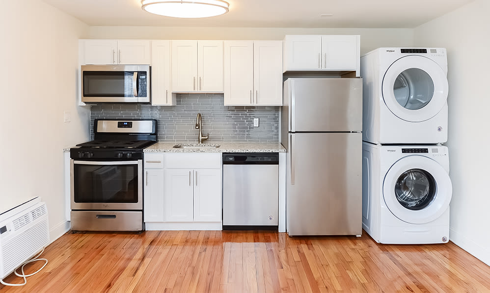 Kitchen at General Greene Village Apartment Homes in Springfield, NJ