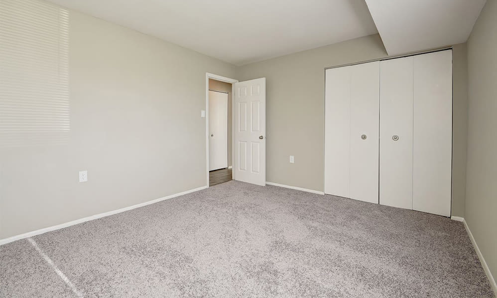 Spacious bedroom at Ross Ridge Apartment Homes in Baltimore, MD