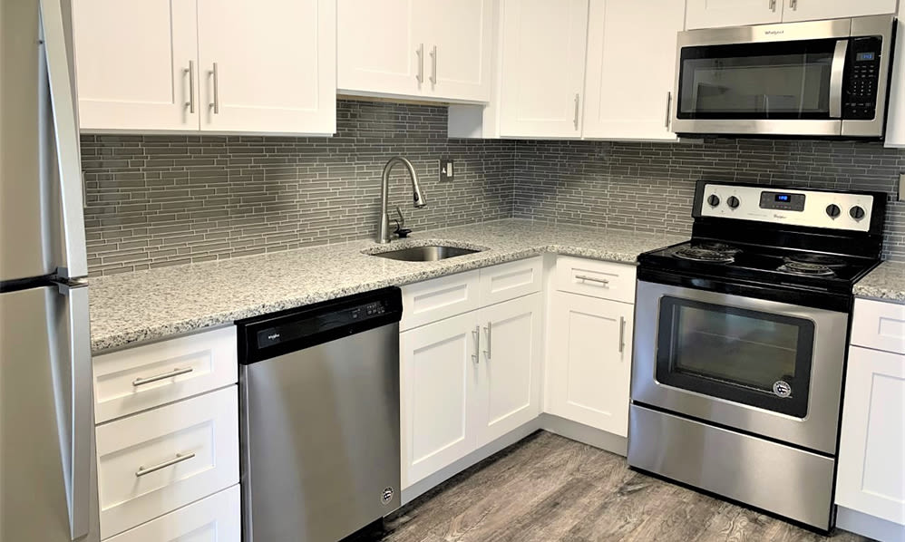Beautiful kitchens at Place One Apartment Homes in Plymouth Meeting, Pennsylvania
