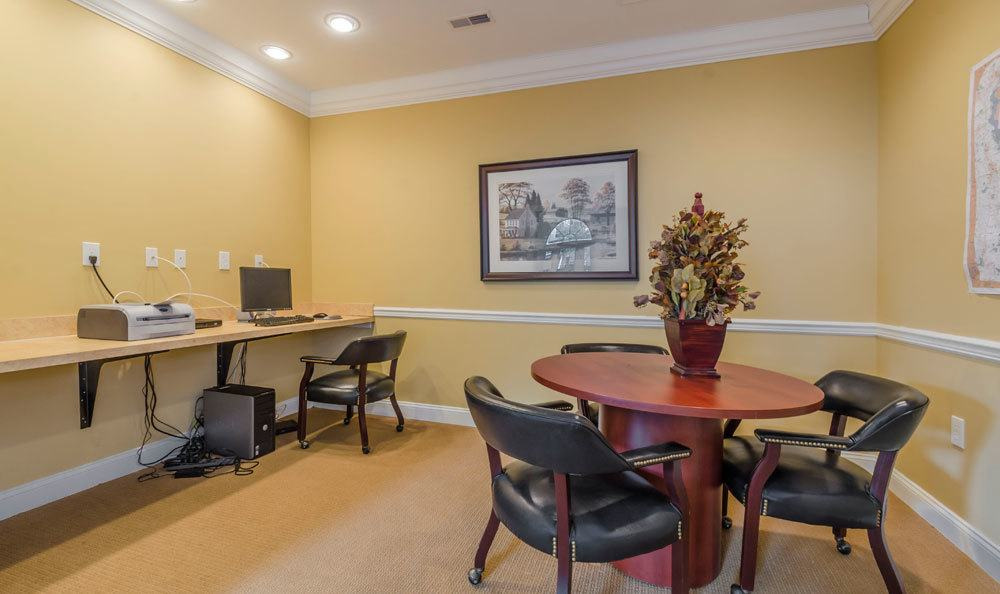 Business center at Cannon Mills in Dover, Delaware