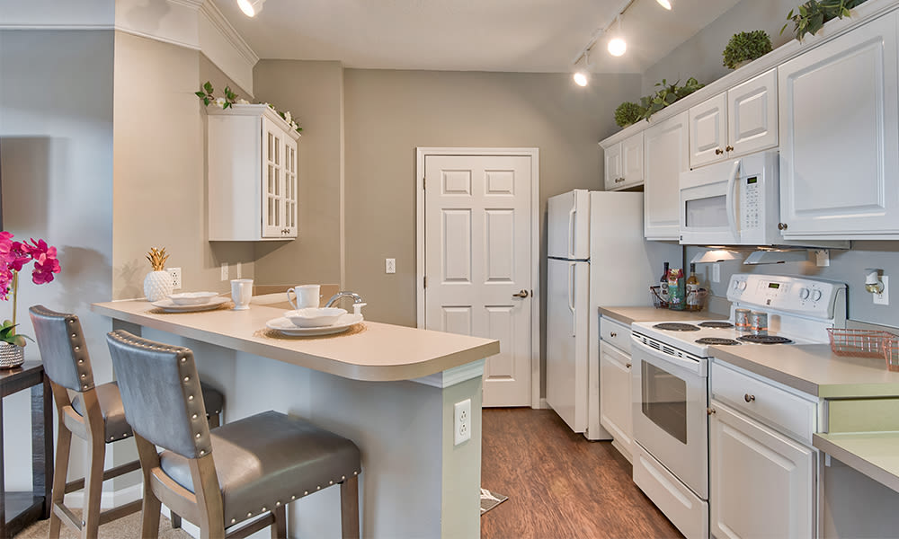 Enjoy apartments with a kitchen that is great for entertaining at Chelsea Place in Toledo, Ohio