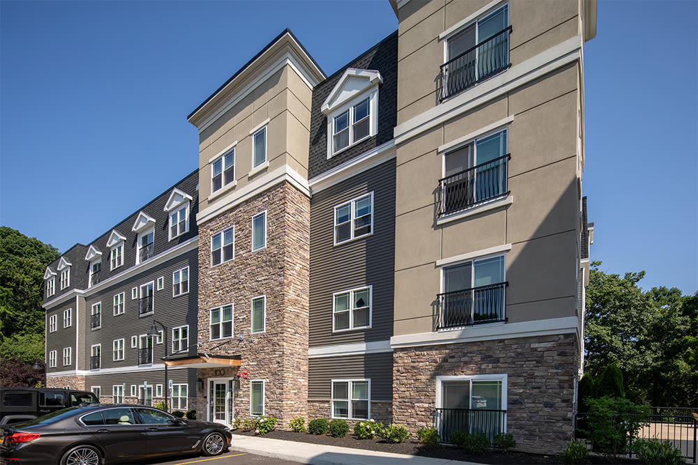Modern apartments at Ellison Heights Apartments in Rochester, New York