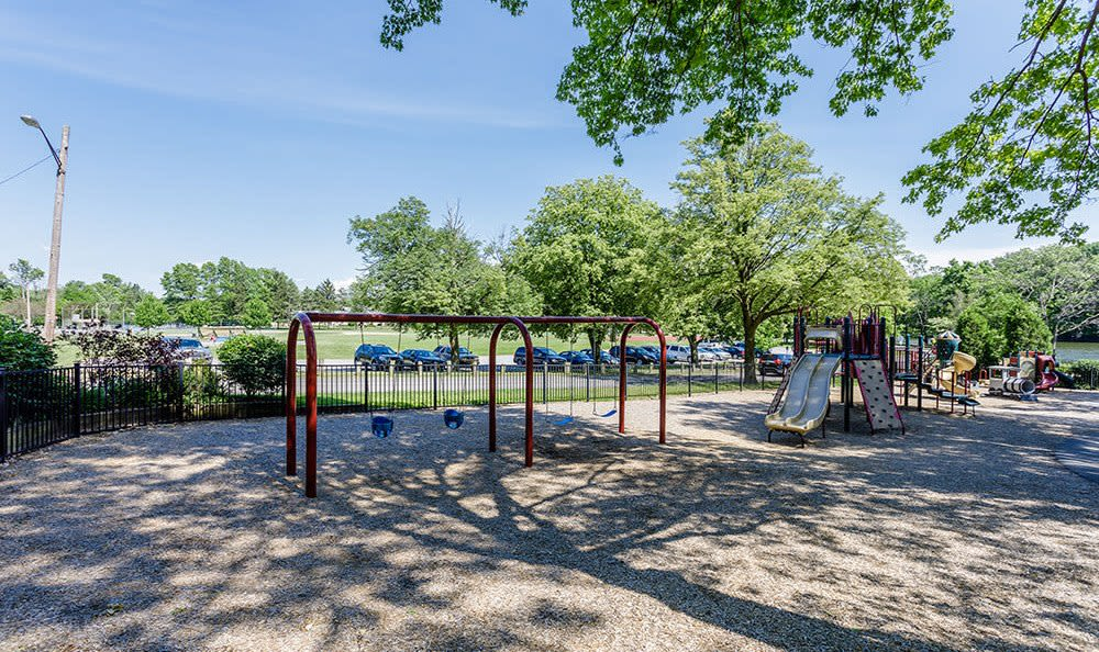 Playground at Green Lake Apartments & Townhomes in Orchard Park, New York