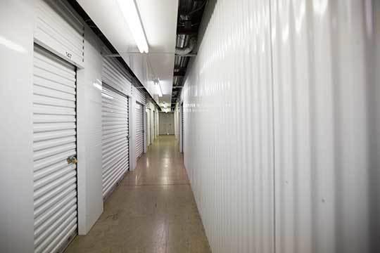 Indoor storage units at StorageMax Baton Rouge in Baton Rouge, Louisiana