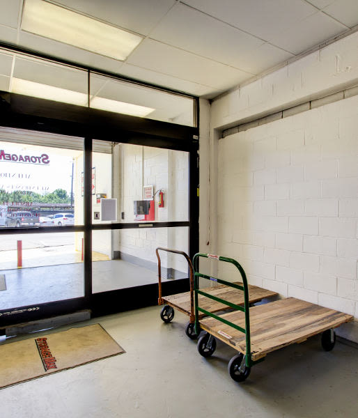 Moving carts available at StorageMax Baton Rouge in Baton Rouge, Louisiana
