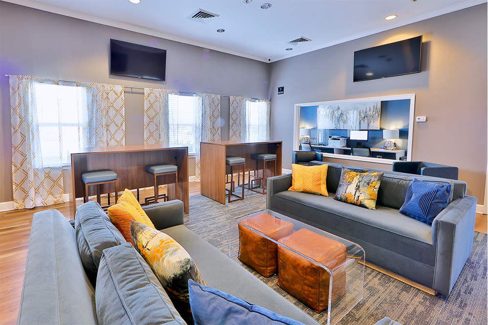 Clubhouse at Orchard Meadows Apartment Homes in Ellicott City Maryland