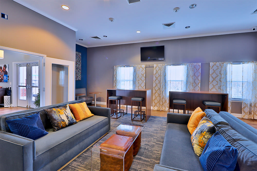 Clubhouse Lounge at Orchard Meadows Apartment Homes in Ellicott City, Maryland