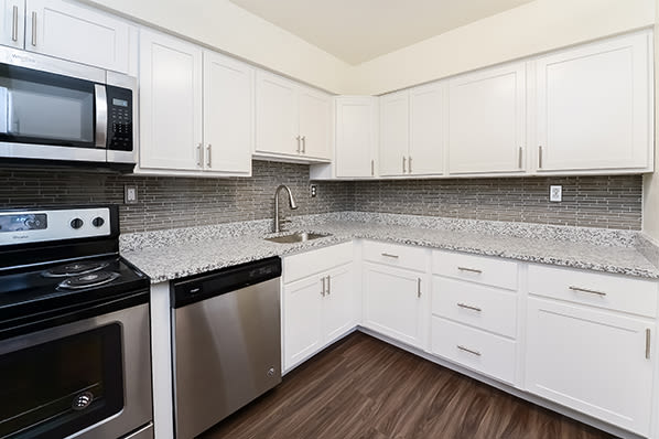 Kitchen at Whitestone Village Apartment Homes in Allentown, Pennsylvania