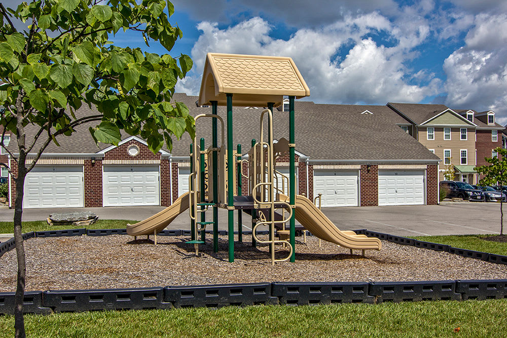Playground at Overlook Apartments in Elsmere, Kentucky