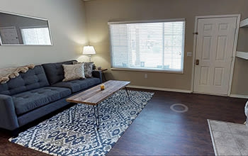 Virtual tour of a one bedroom apartment at Perry's Crossing Apartments in Perrysburg, Ohio