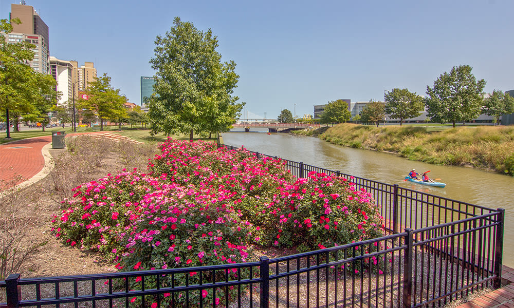 Promenade Park near Steeplechase Apartments & Townhomes in Toledo, Ohio