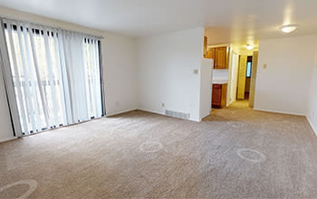 1 bedroom, 1 bath virtual tour for High Acres Apartments & Townhomes in Syracuse, New York