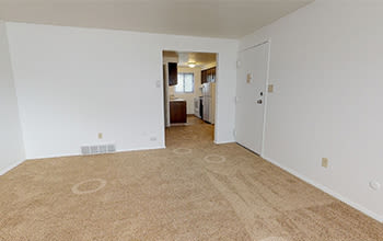 2 bedroom, 2 bath virtual tour for High Acres Apartments & Townhomes in Syracuse, New York