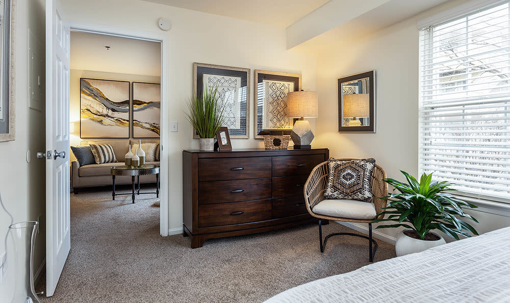 Enjoy a beautiful bedroom at Village of Westover in Dover, Delaware