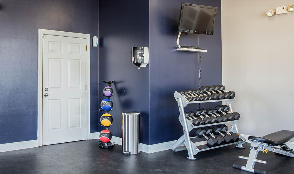 Village of Westover in Dover, Delaware offer a fitness center