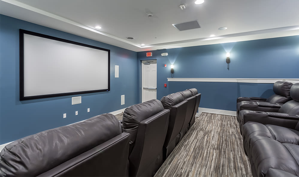 Theater at Waters Edge Apartments in Webster, New York