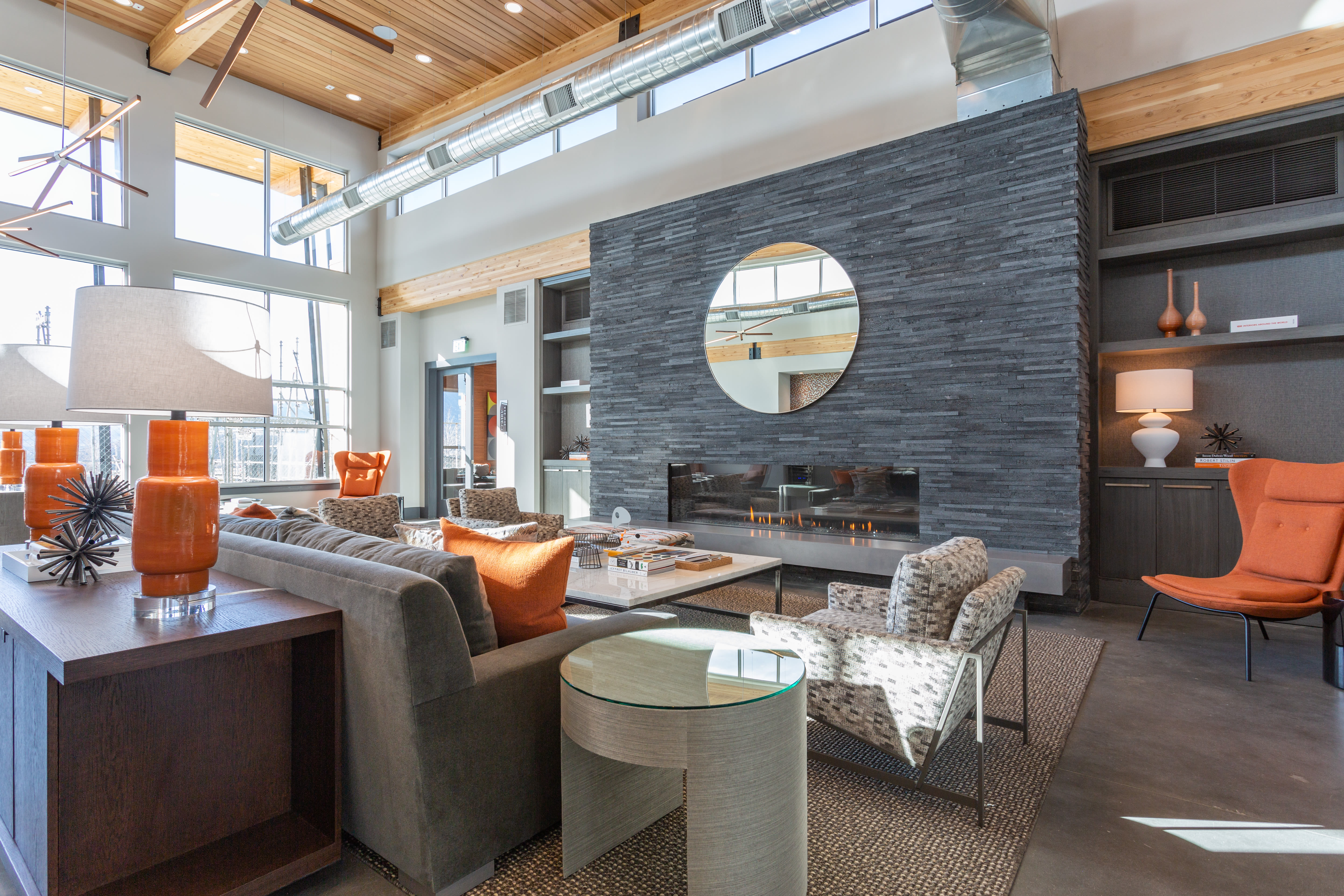 Stylish clubhouse in Colorado Springs, Colorado near FalconView