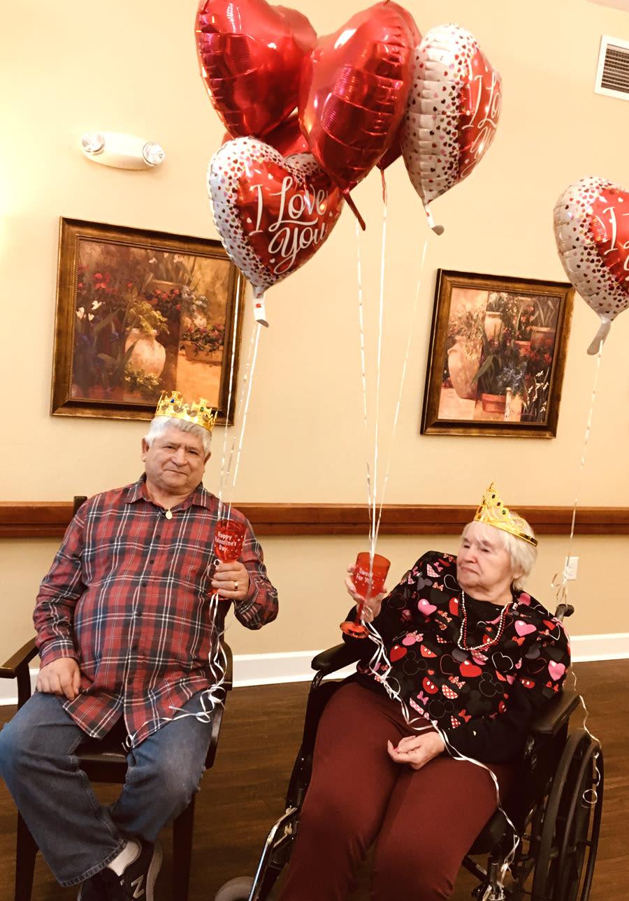 Valentine's Day at Bridgecreek
