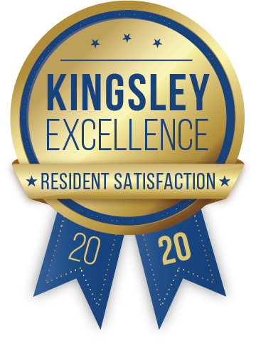 Kingsley certificate of excellence 2020