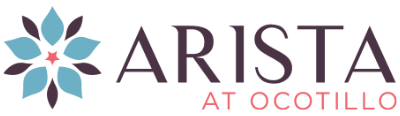 logo for Arista at Ocotillo in Chandler, Arizona