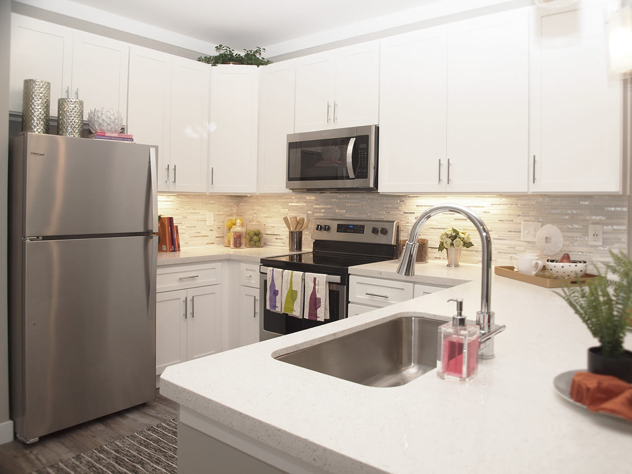 Spacious Kitchen at Allure Apartments in Centerville, Ohio
