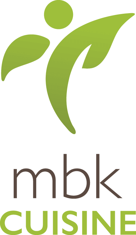 MBKuisine logo at Huntington Terrace in Huntington Beach, California
