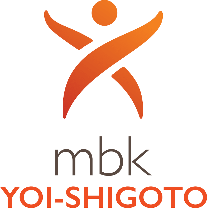 Yoi Shigoto logo at MBK Senior Living in Irvine, California